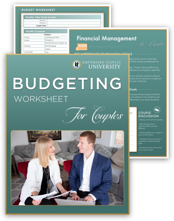budgeting worksheet for couples 2