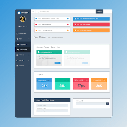 four eyes designs ui ux design ciam application