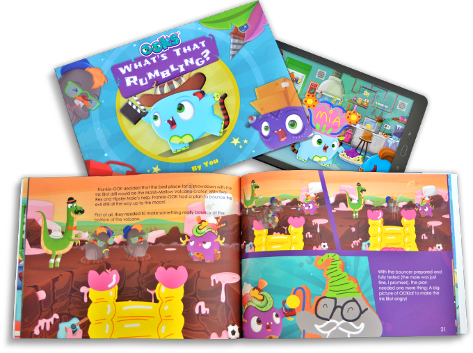 OOKs Personalised books