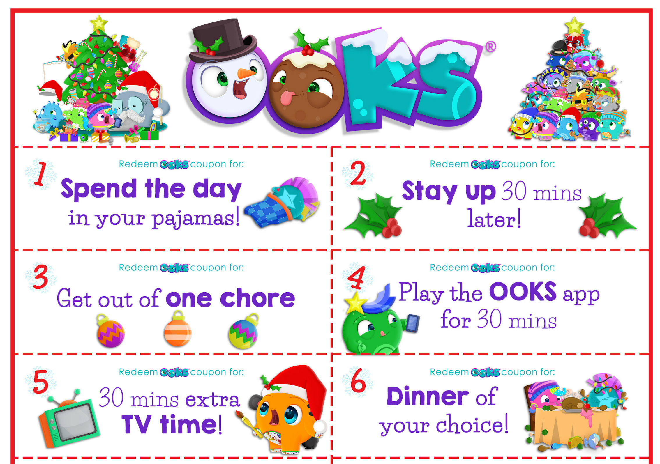 picture regarding 12 Days of Christmas Printable referred to as Totally free Printable: 12 Times of Xmas Discount coupons