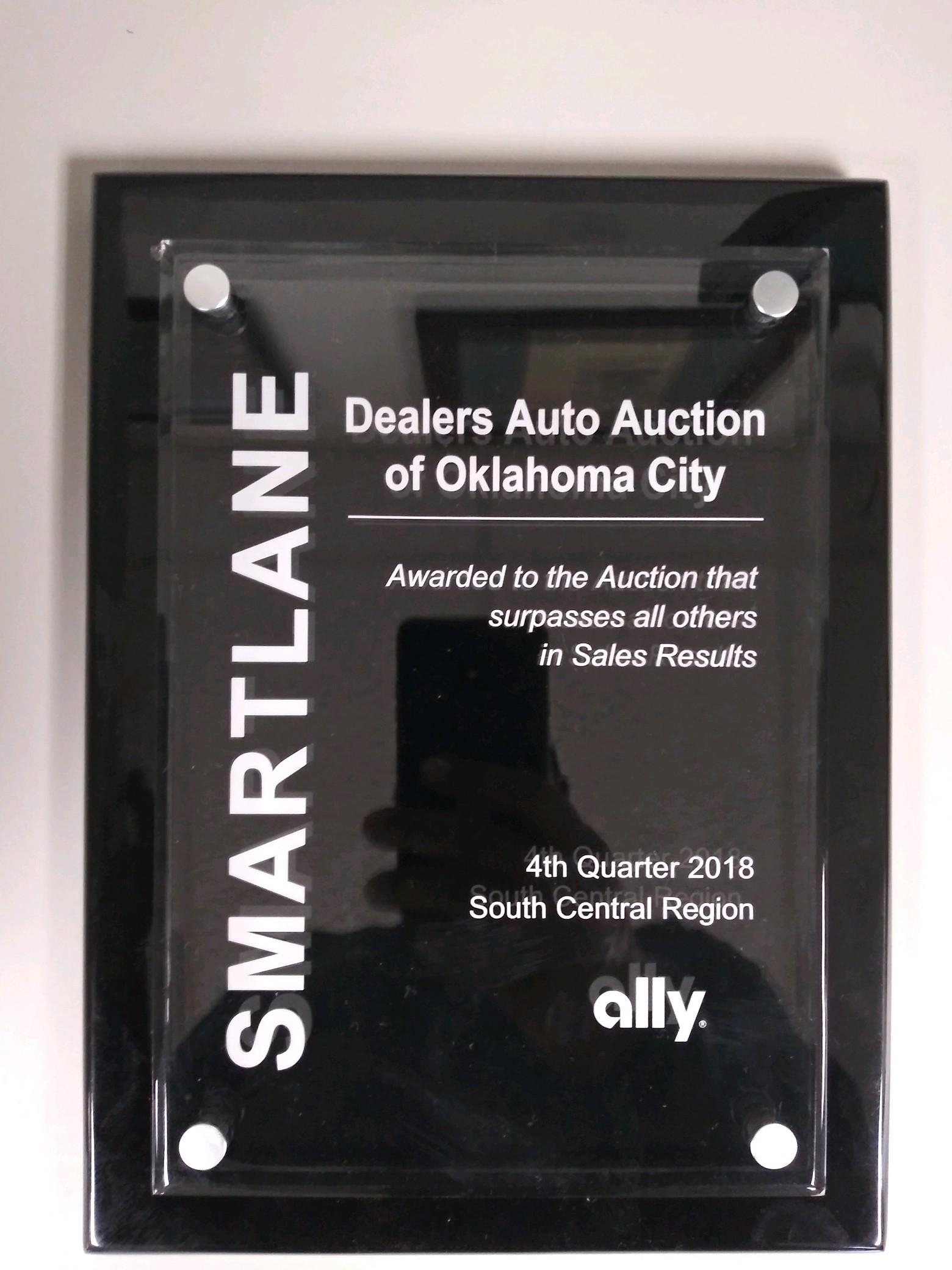 Dealer's Auto Auction of Oklahoma City