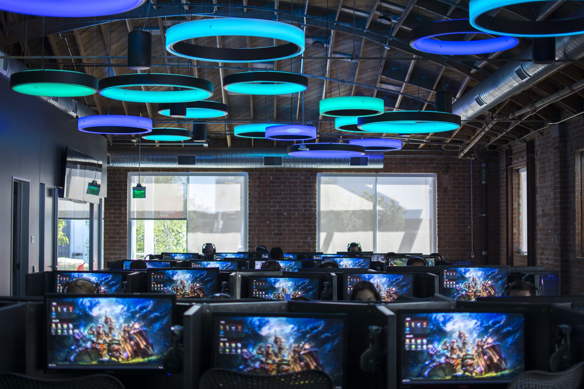 Riot Games cyber cafe