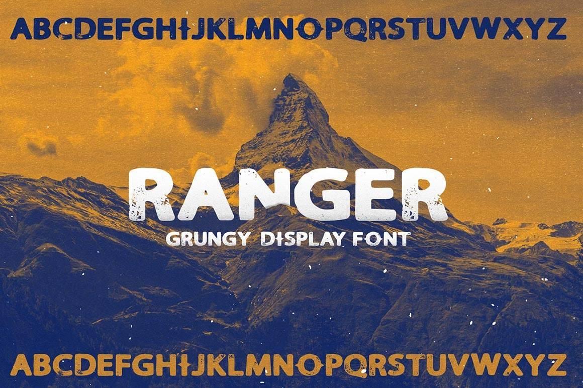 Ranger Free Sans Serif Typeface