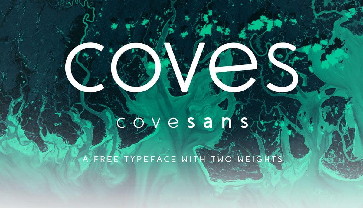 Coves Free Sans Serif Typeface