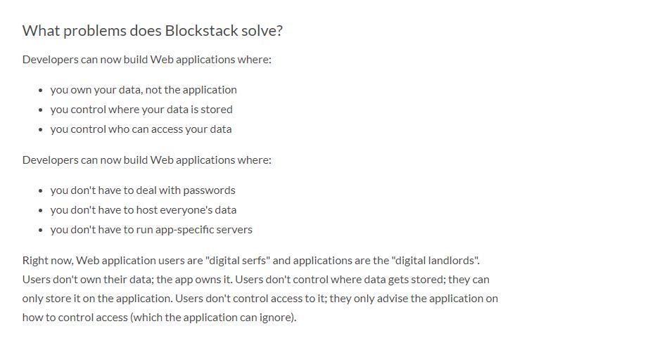Blockstack crypto review