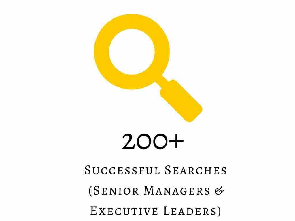 200+ Successful Executive Search