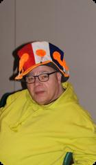 Danser van groep oranje