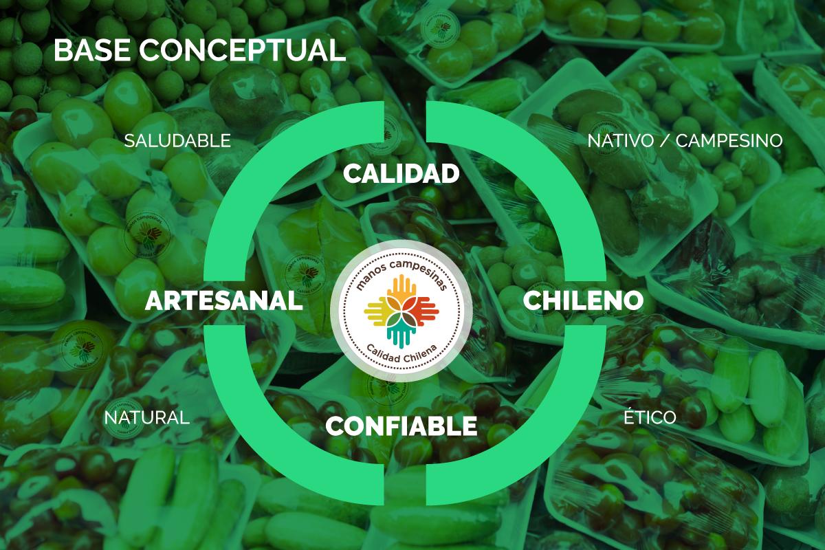 Base conceptual - Sello Manos Campesinas