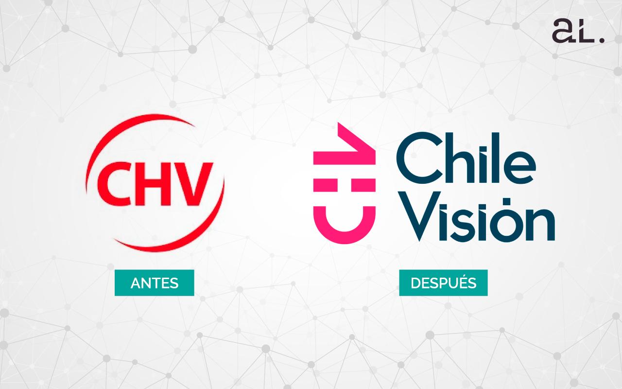 La nueva imgen corporativa de Chilevisión