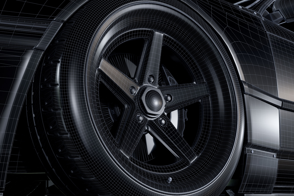 rotiform basics of automotive design CGI wheels Dmitry Mazurkevich
