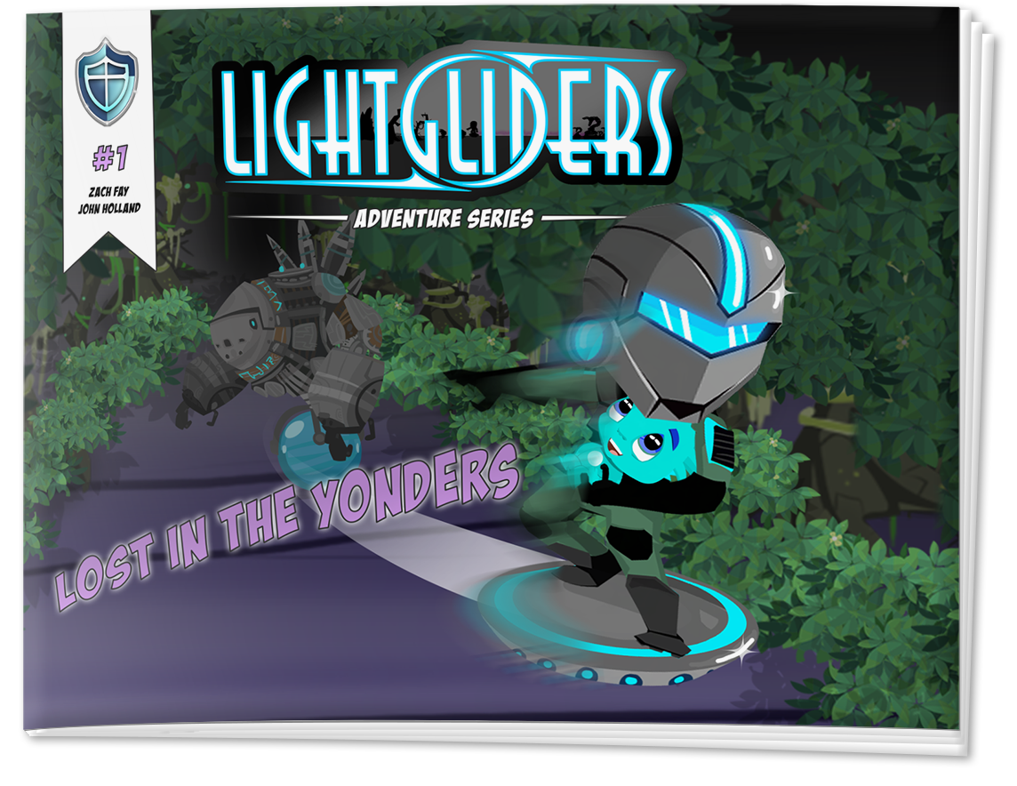 Cover of Lightgliders Comic