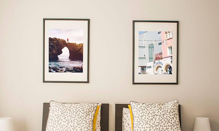 Handmade Picture Frames - The Camera Centre, Lerwick, Shetland