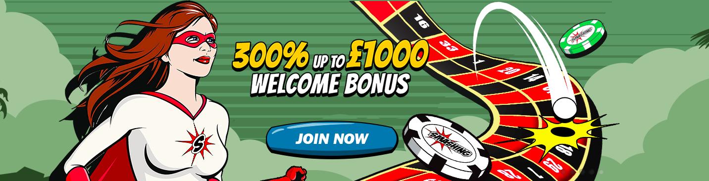 smashing casino bonus