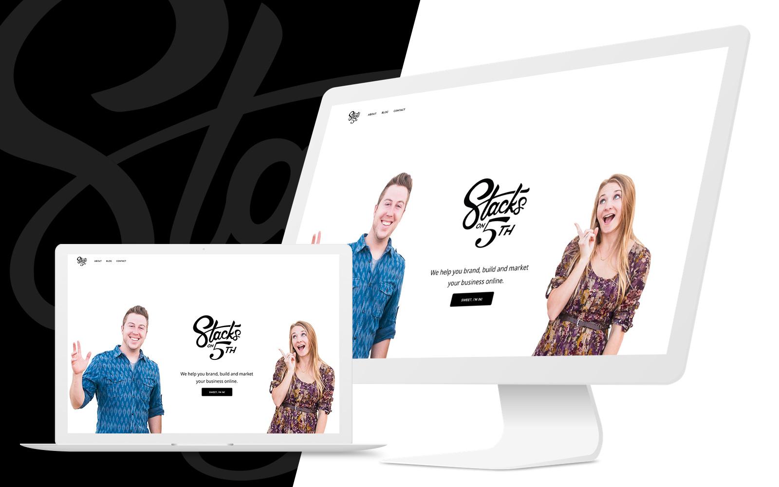 Stacks on 5th Website Mock