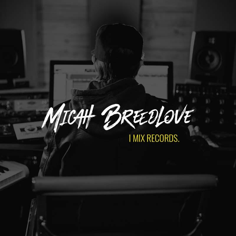 Micah Breedlove Website Mock
