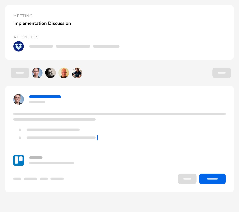 Hugo Meeting Page - screenshot