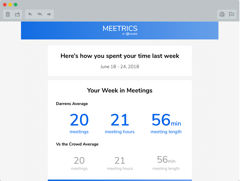 Meeting analytics