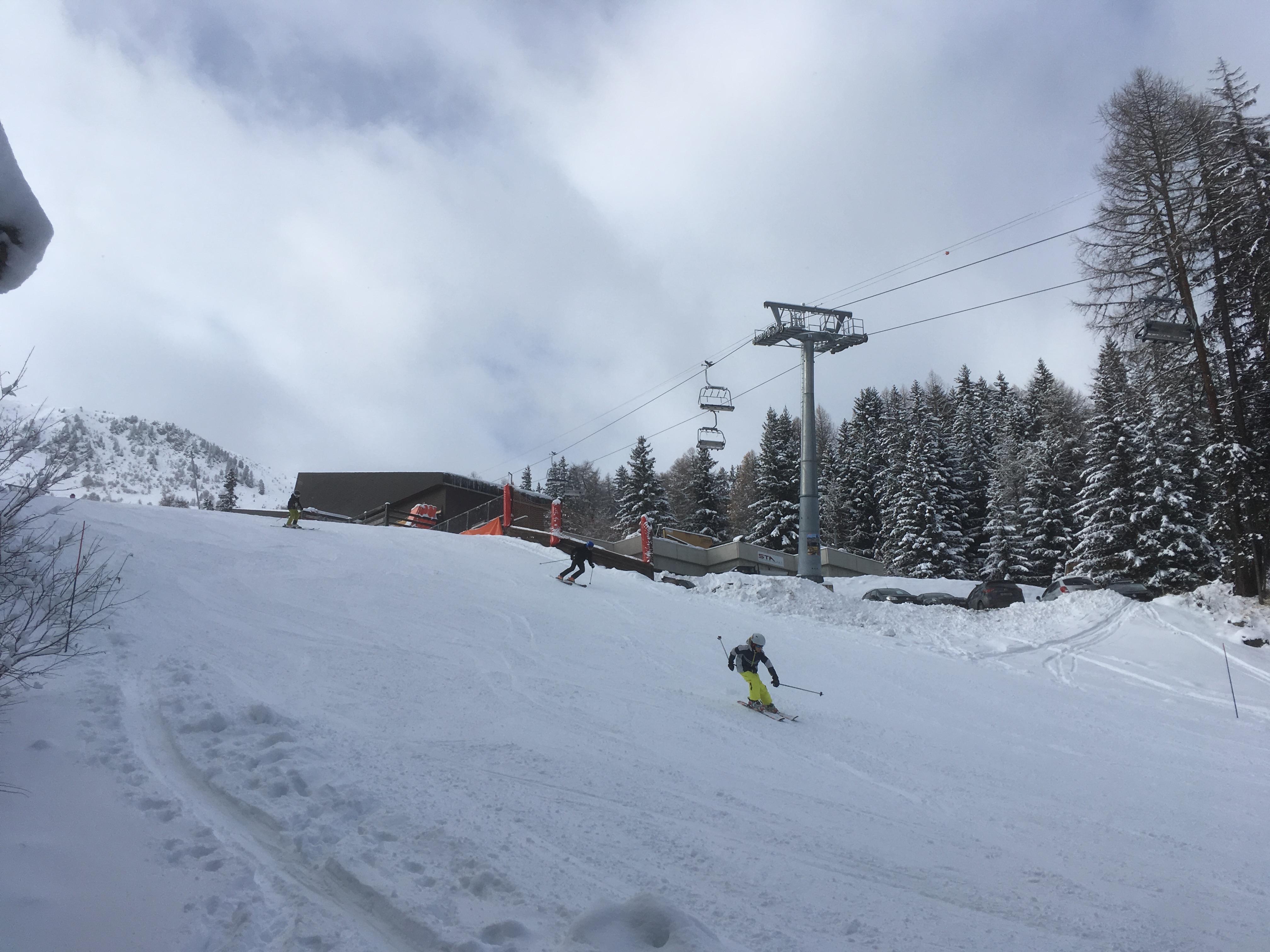 Trabanta ski lift Les 4 Vallees