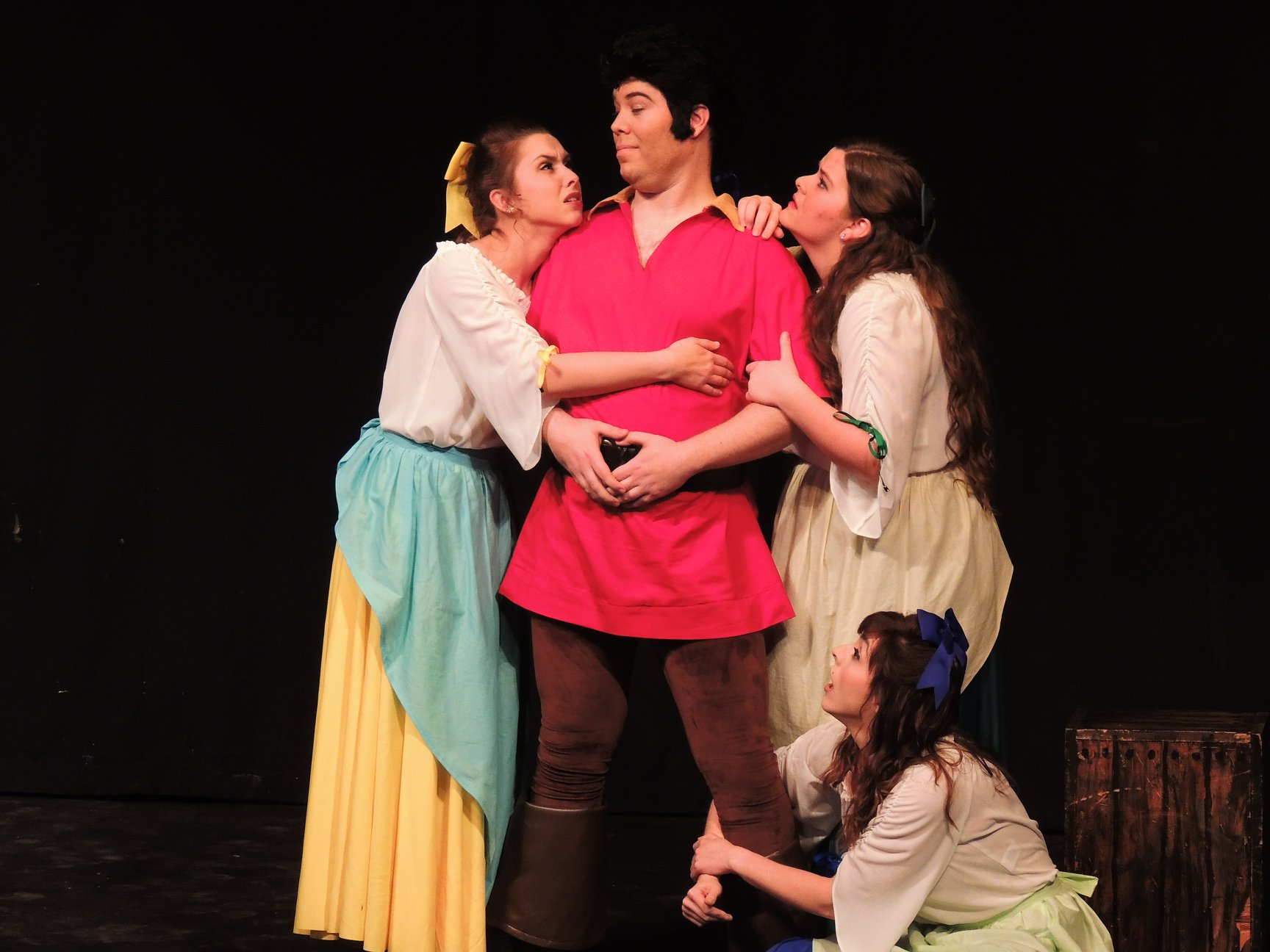 Gaston and the Silly Girls