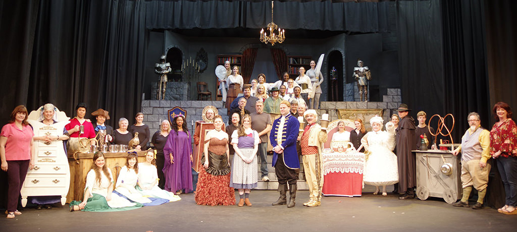 The cast and crew of Beauty and the Beast.