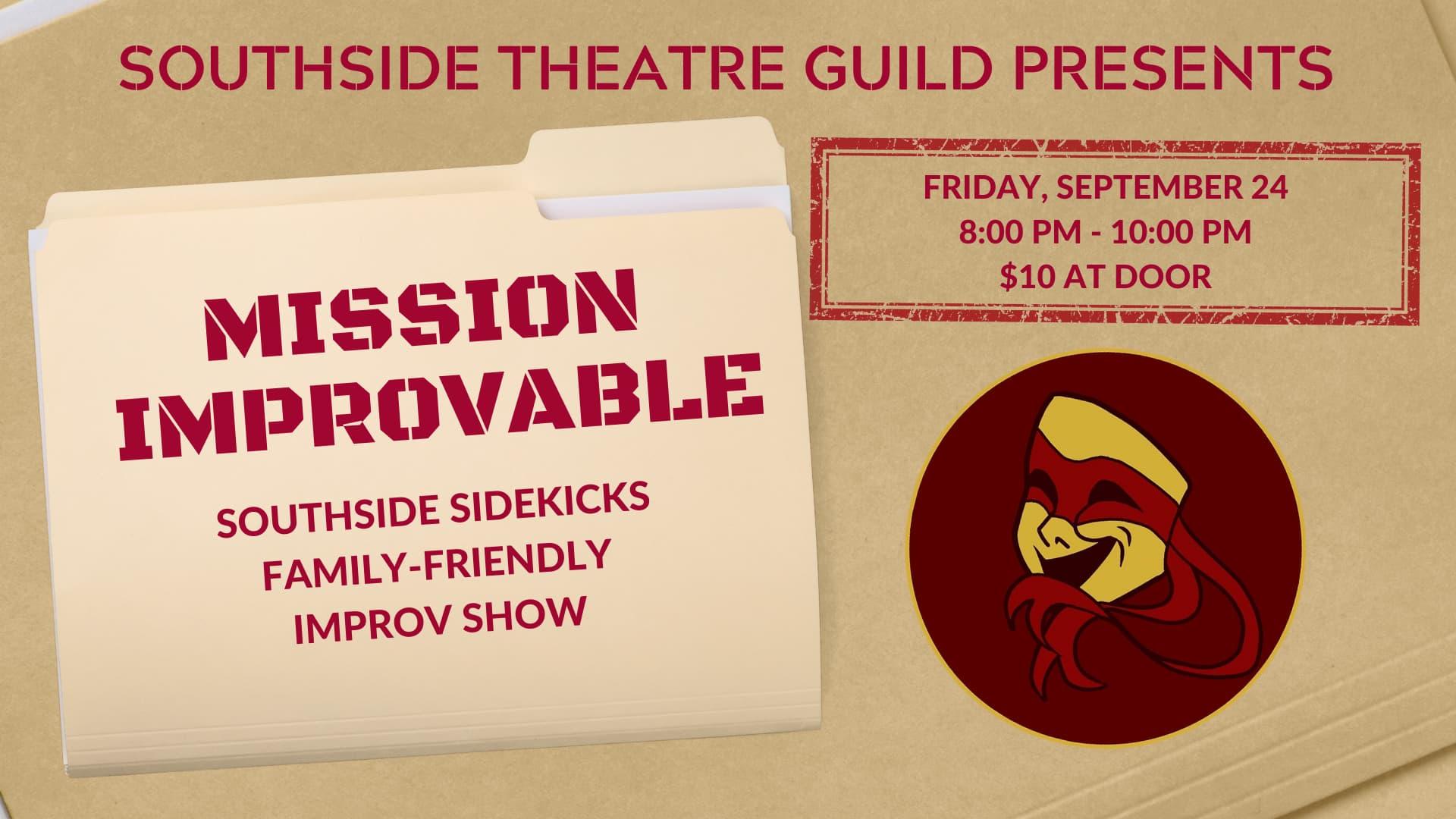 Southside Sidekicks present Mission: Improvable