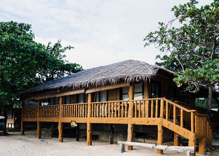 Beach Cottages Stilts Calatagan