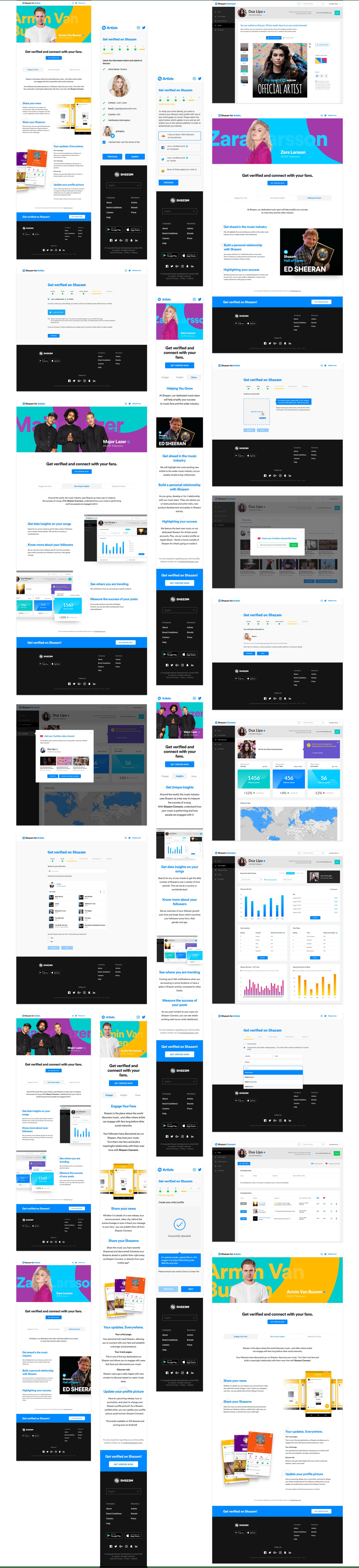revamped Shazam.com