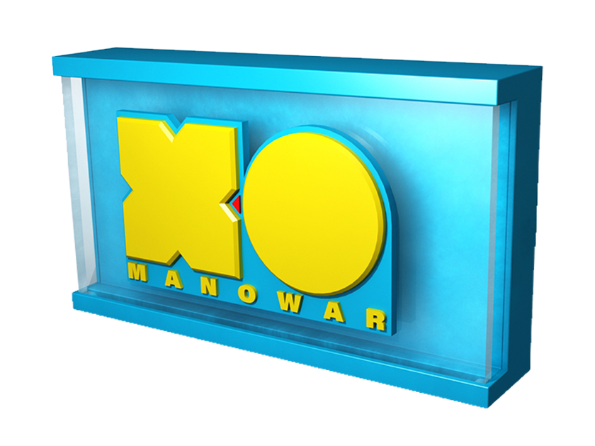 Valiant X-O logo ROXBOX night light