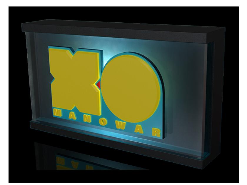 Valiant X-O emblem ROXBOX adult night light
