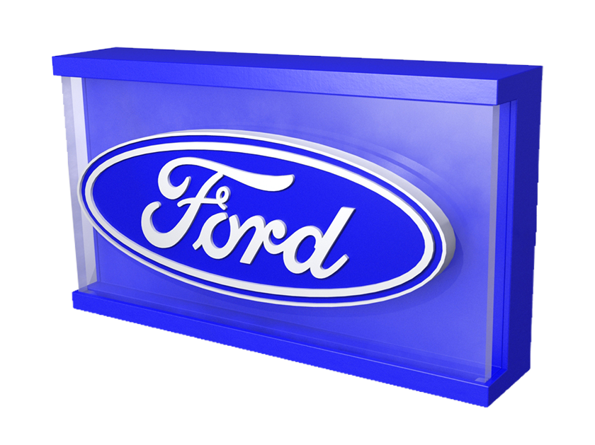 Ford logo ROXBOX night light