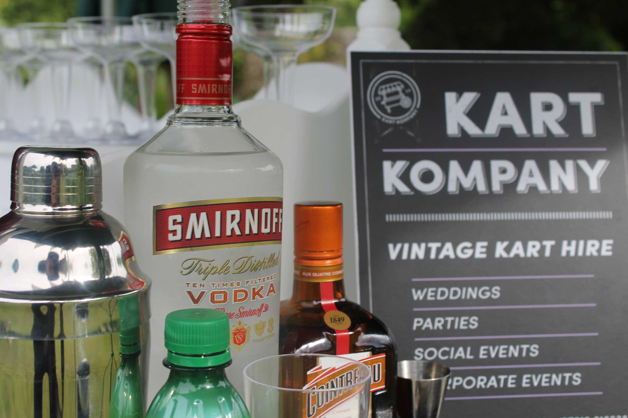 Cocktail Cart Detail