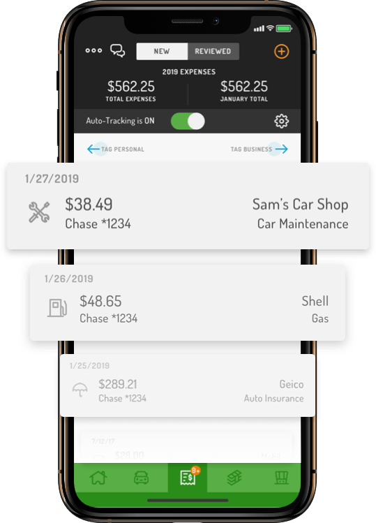 Automatic expense tracker app