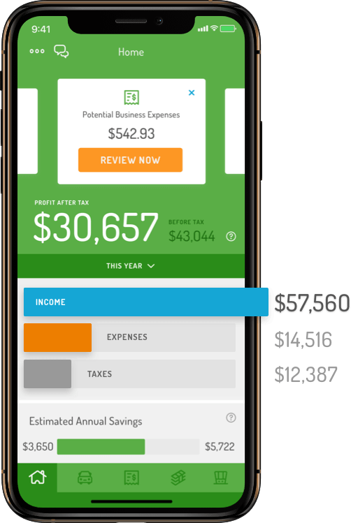 Real-time finances tracker app