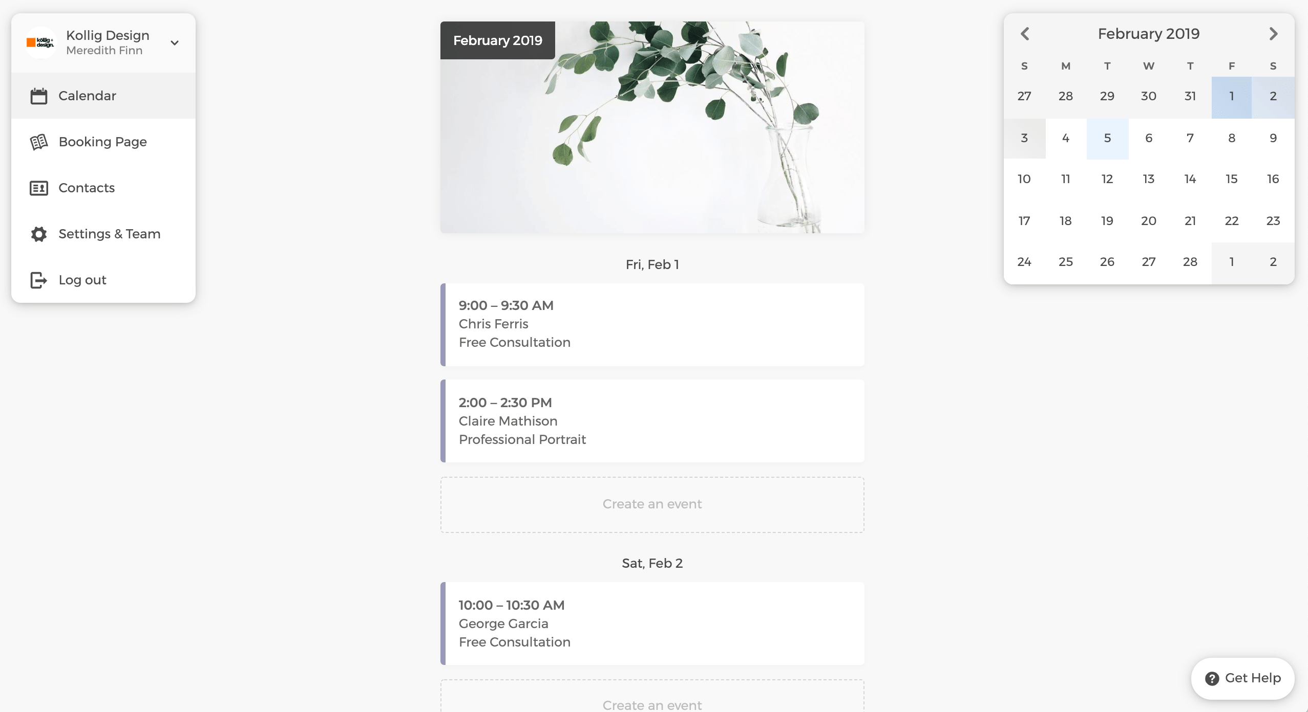 CozyCal - Delightfully Simple Scheduling