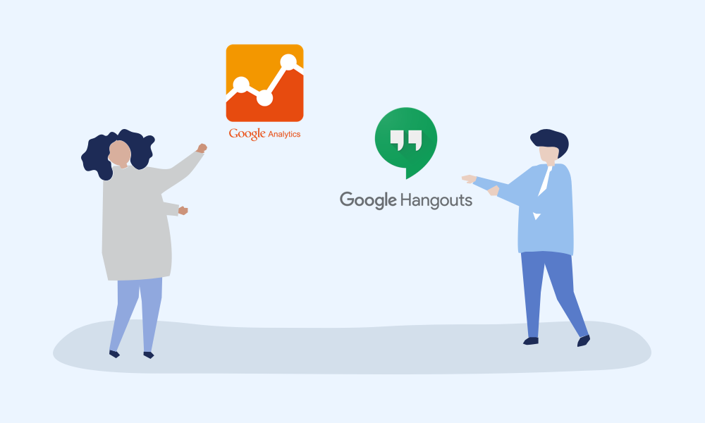 Introducing Google Analytics and Google Hangouts integrations