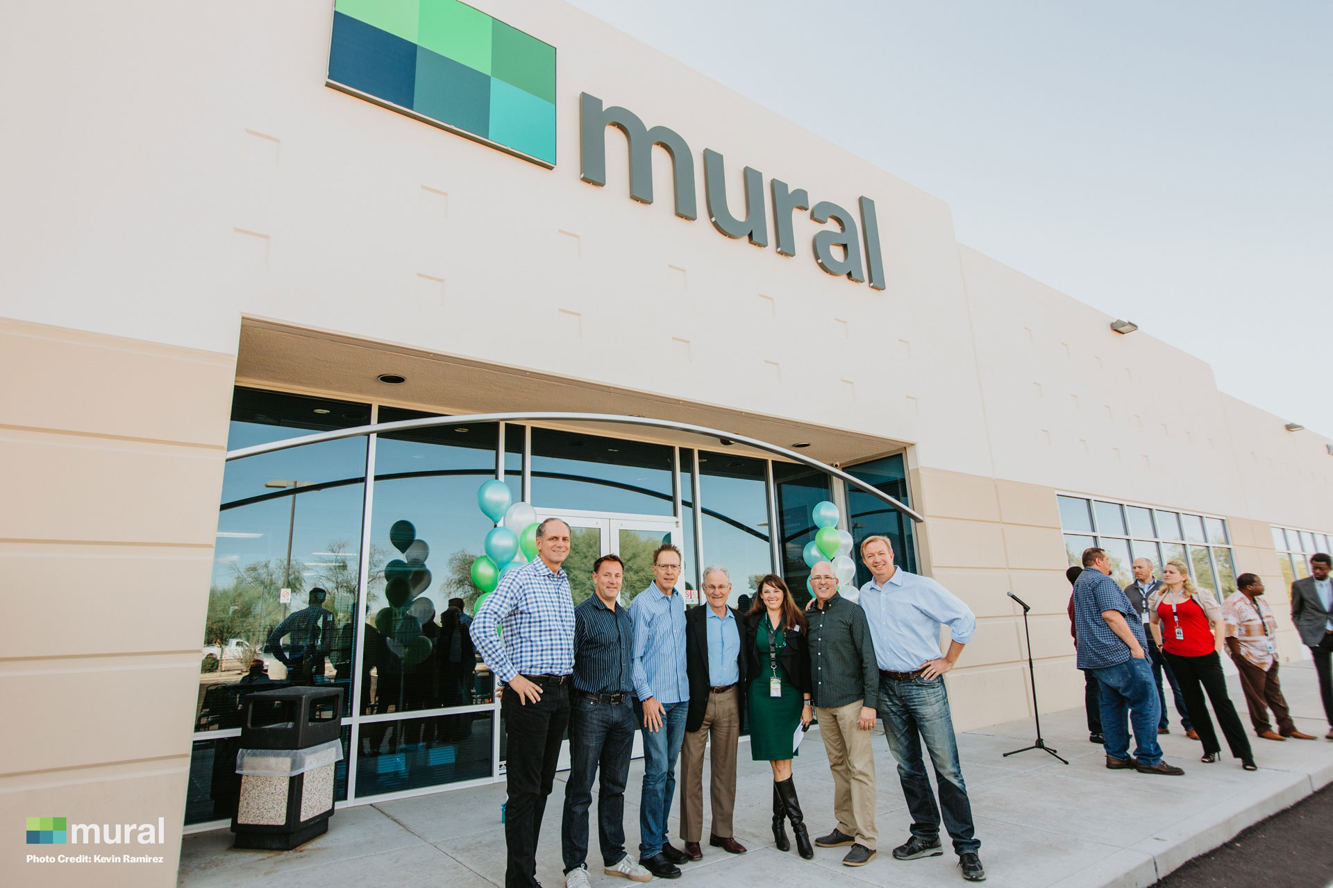 Mural Ribbon Cutting Ceremony