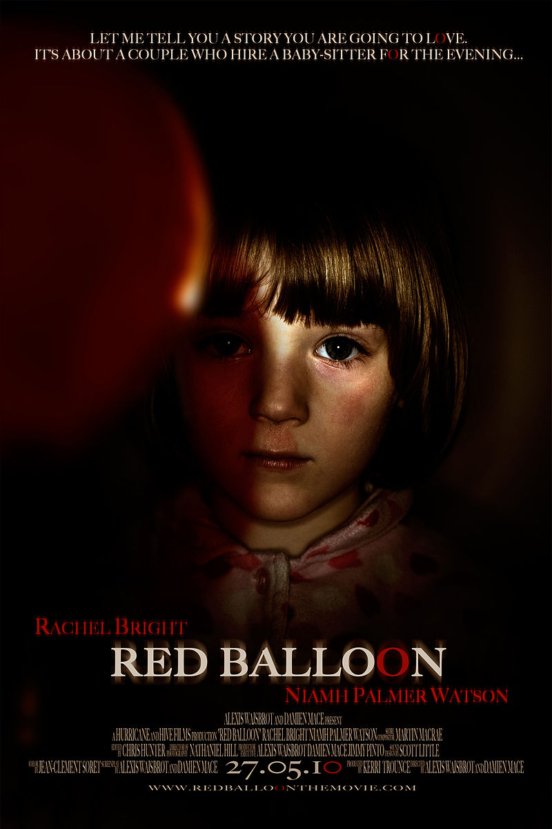 Affiche Red balloon