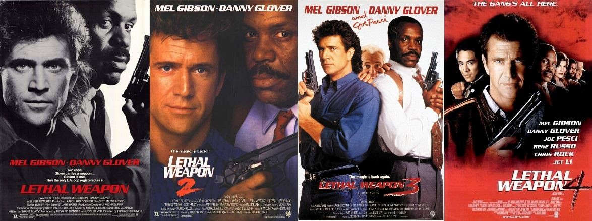 Lethal Weapon Covers