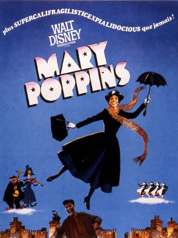 ffiche Mary poppins
