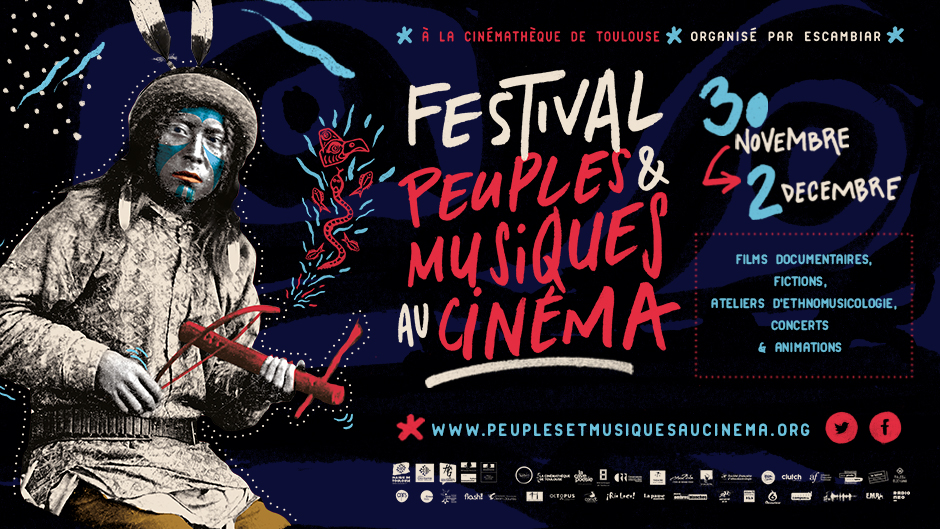 Visuel du festival peuple et musiques au cinéma