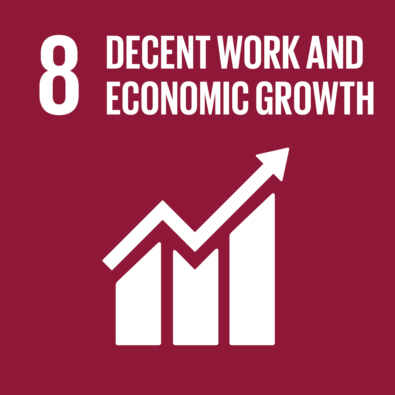 08 Decent Work and Economic Growth SDG