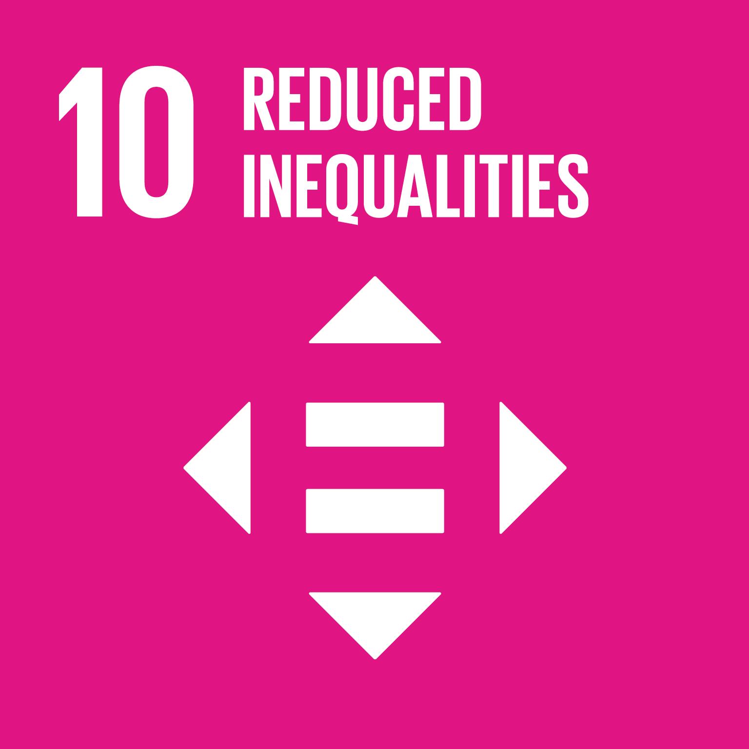 10 Reduced Inequalities SDG