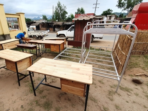 Metal + Wood Furniture for Schools, Hospitals and Private use.