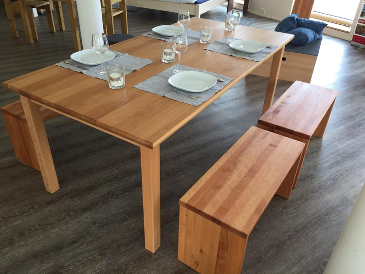 Quality Wood Furniture, Tables, Chairs, Dressers and Garderobes