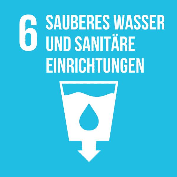 6 sauberes Wasser und sanitäre Einrichtungen