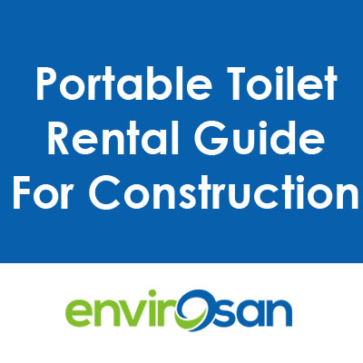 portable toilet for construction