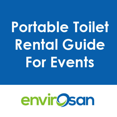 portable toilet for events