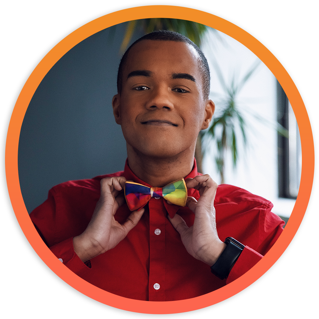 Image of Ty Best wearing a Bow Tie