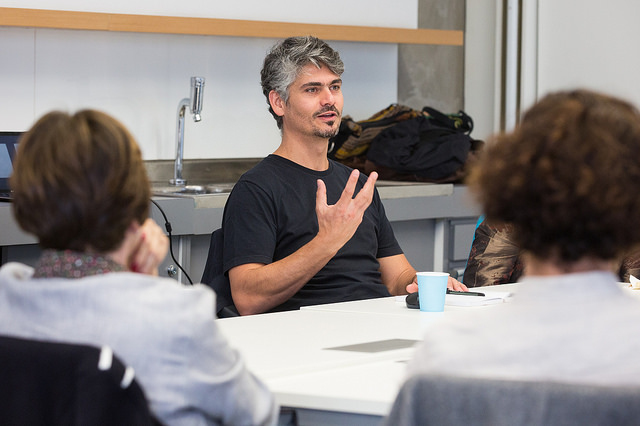 Fausto Amadigi, facilitador dos círculos das empreendedoras para artesãs da Rede Asta