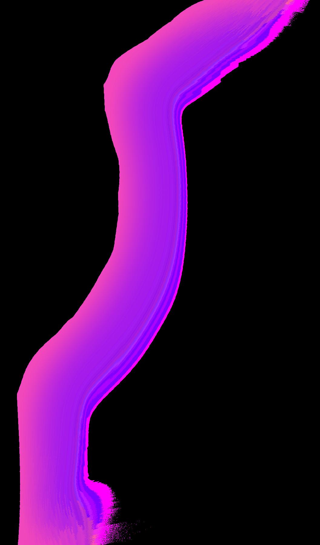 gradient line pink